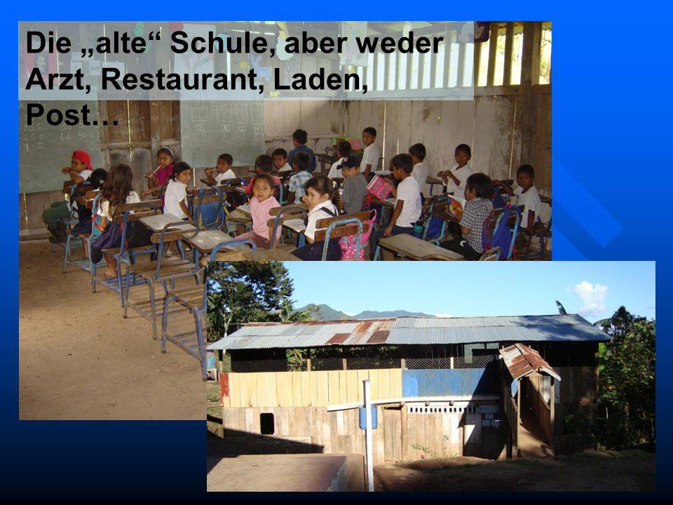 """Die """"alte Schule, aber weder Arzt, Restaurant, Laden, Post…"""