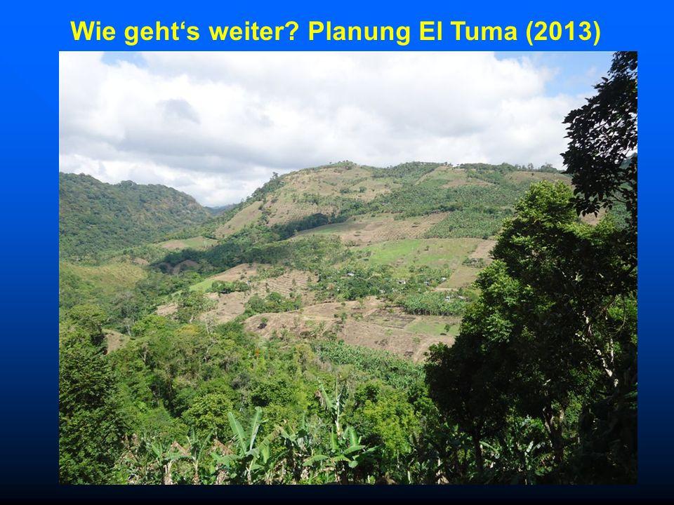 Wie geht's weiter Planung El Tuma (2013)
