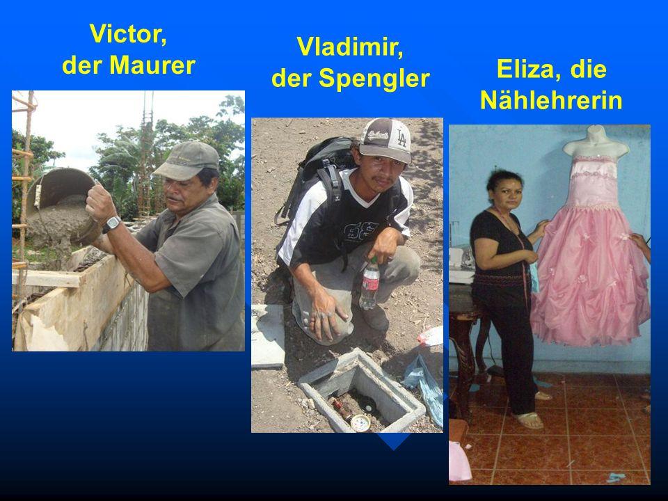 Victor, der Maurer Vladimir, der Spengler Eliza, die Nählehrerin
