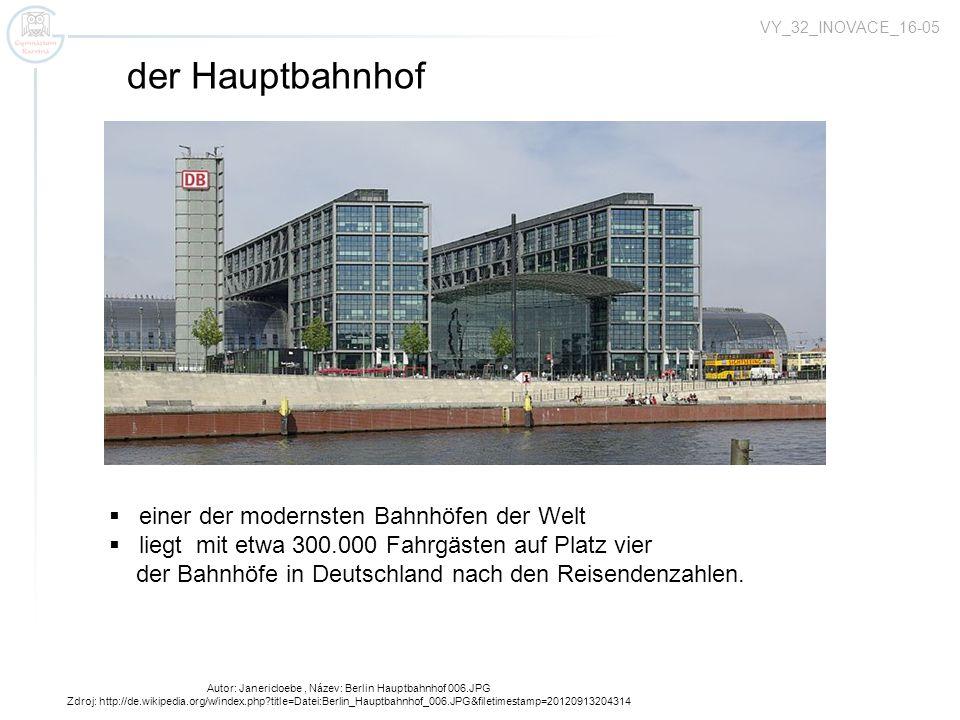 Autor: Janericloebe , Název: Berlin Hauptbahnhof 006.JPG
