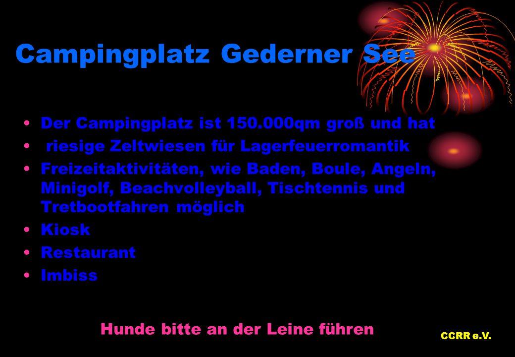 Campingplatz Gederner See