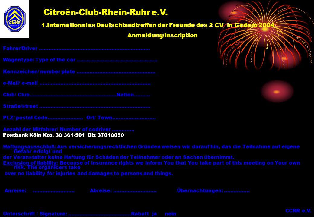 Citroën-Club-Rhein-Ruhr e.V.