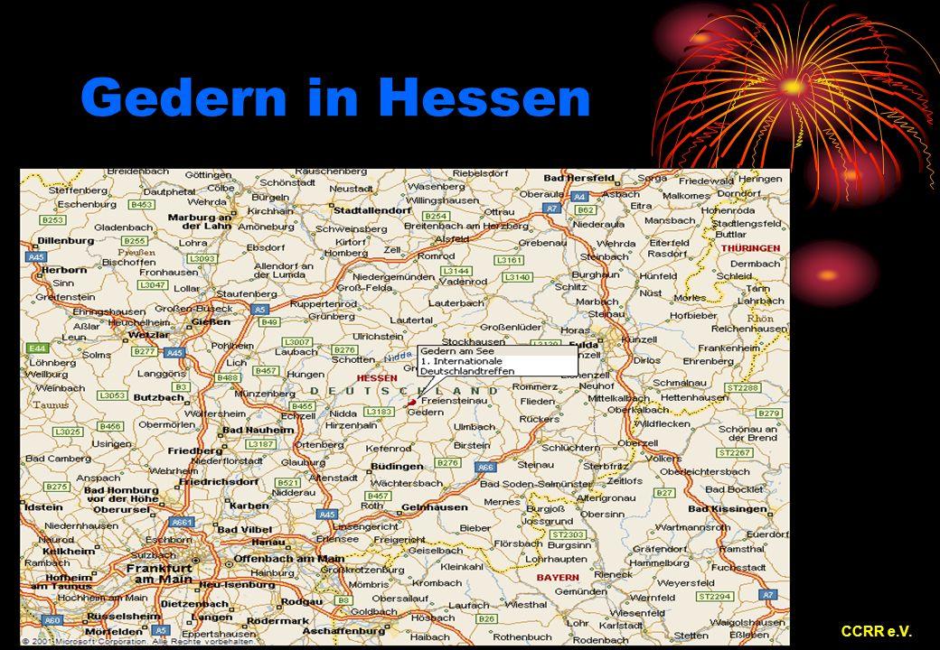 Gedern in Hessen CCRR e.V.