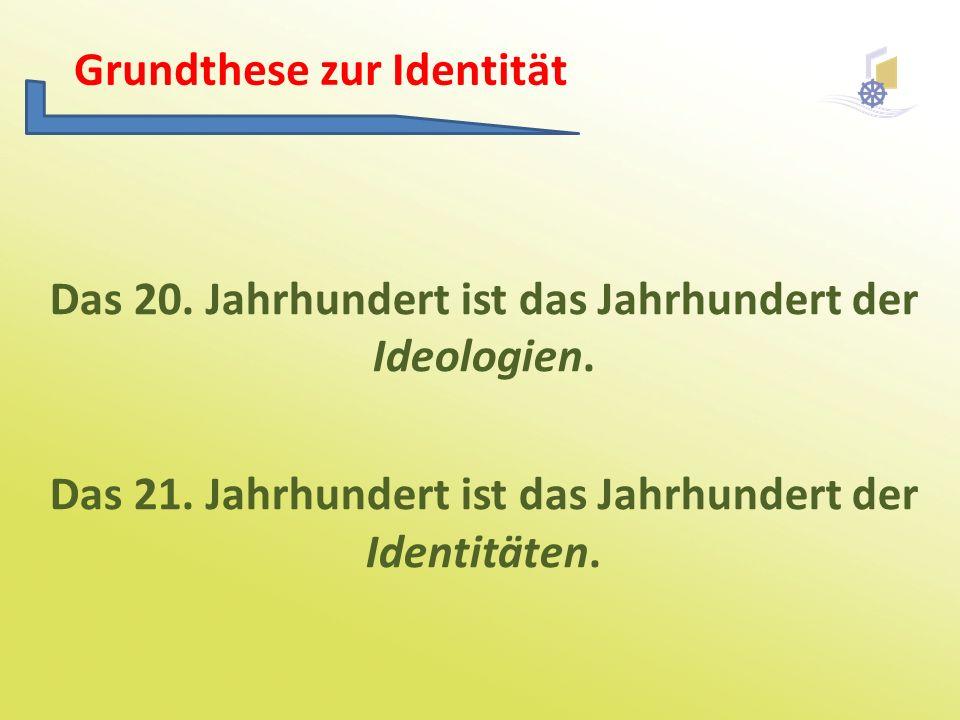 Grundthese zur Identität