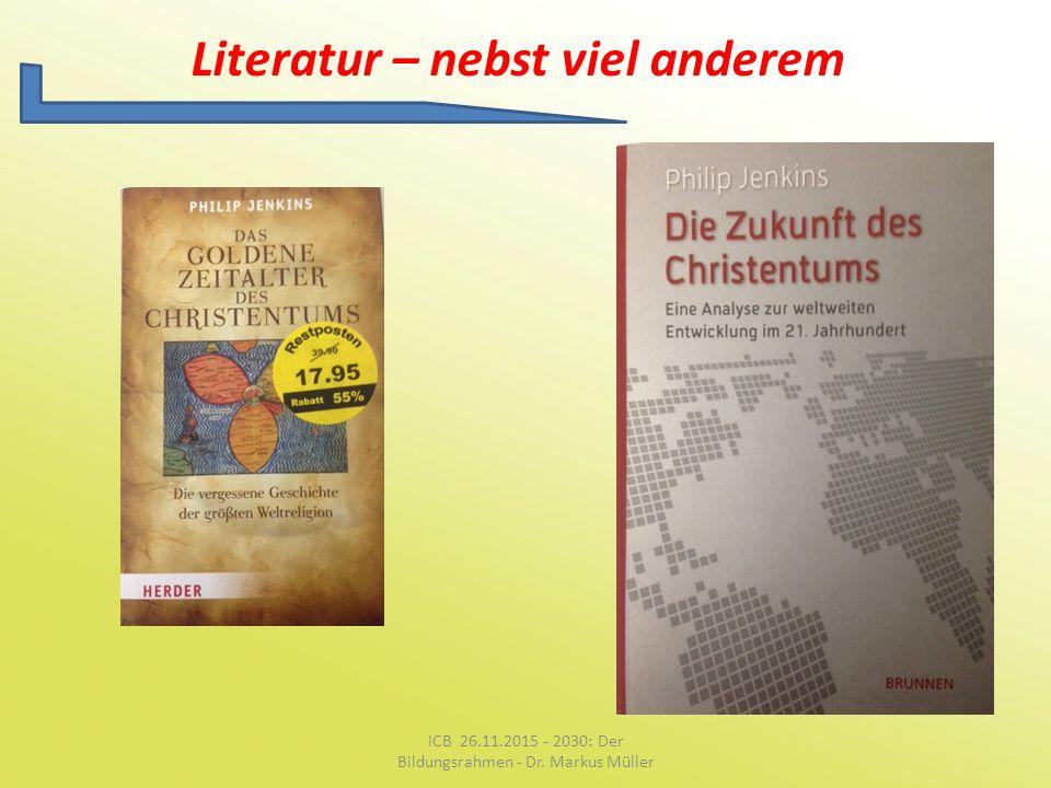 Literatur – nebst viel anderem
