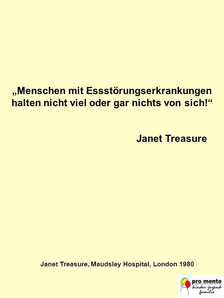 Janet Treasure, Maudsley Hospital, London 1980