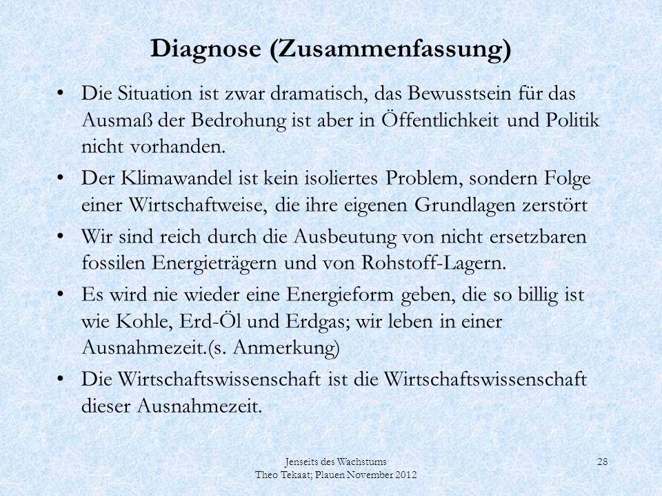 Diagnose (Zusammenfassung)