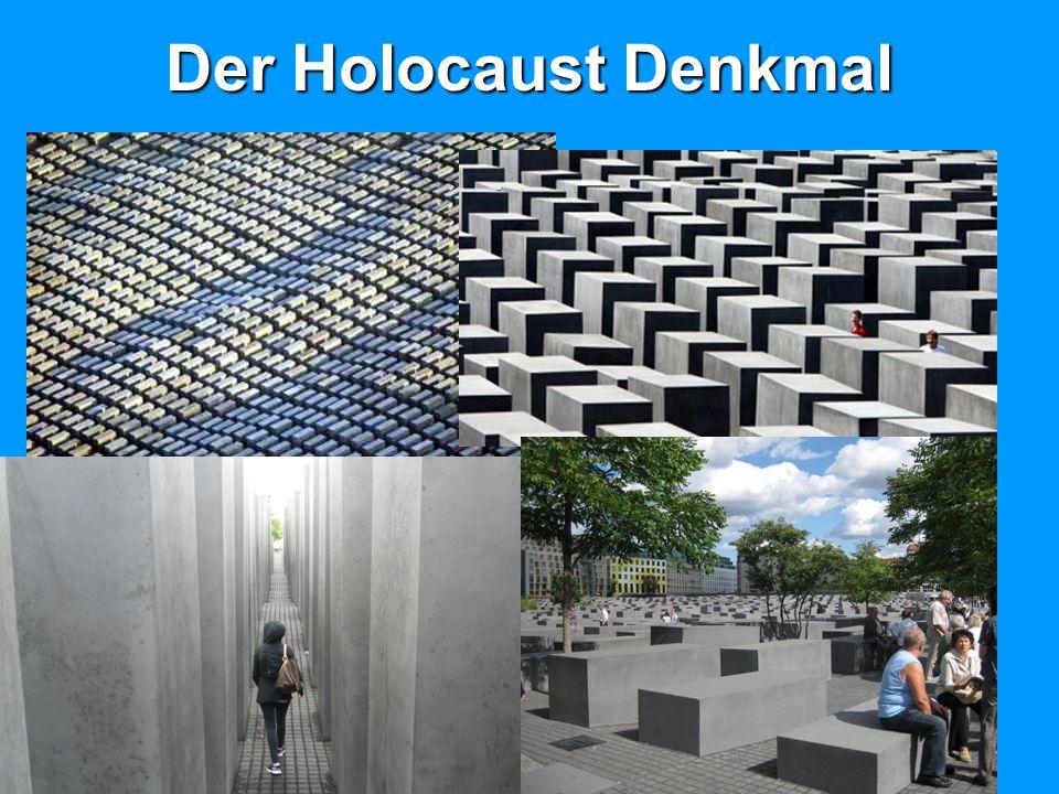 Der Holocaust Denkmal