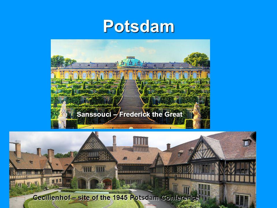 Potsdam Sanssouci – Frederick the Great