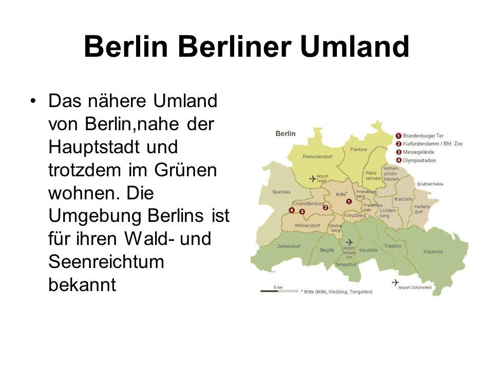 Berlin Berliner Umland