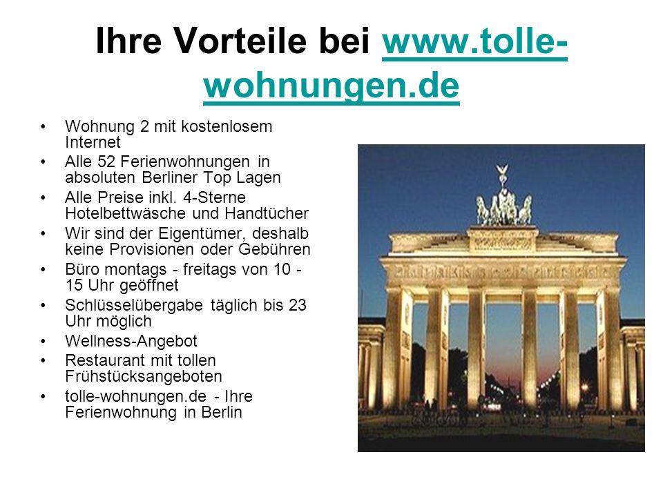 Ihre Vorteile bei www.tolle-wohnungen.de