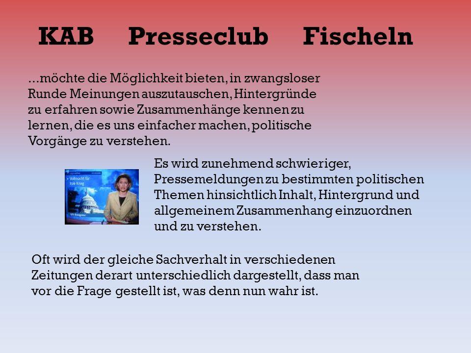 KAB Presseclub Fischeln