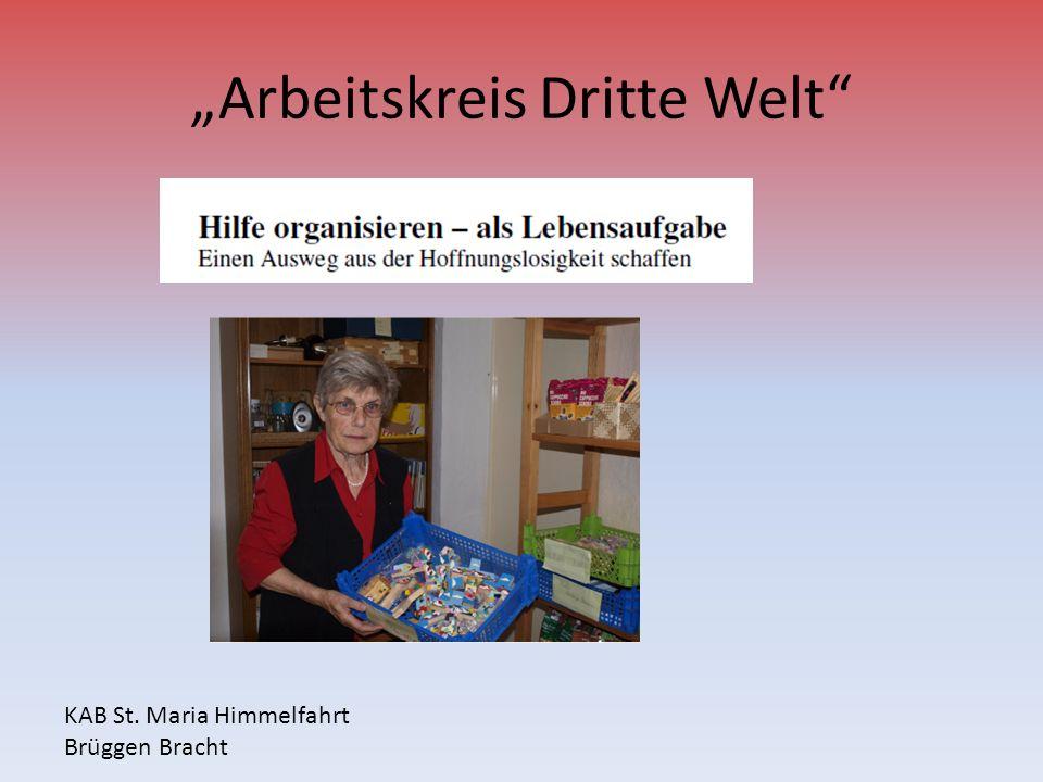 """""""Arbeitskreis Dritte Welt"""
