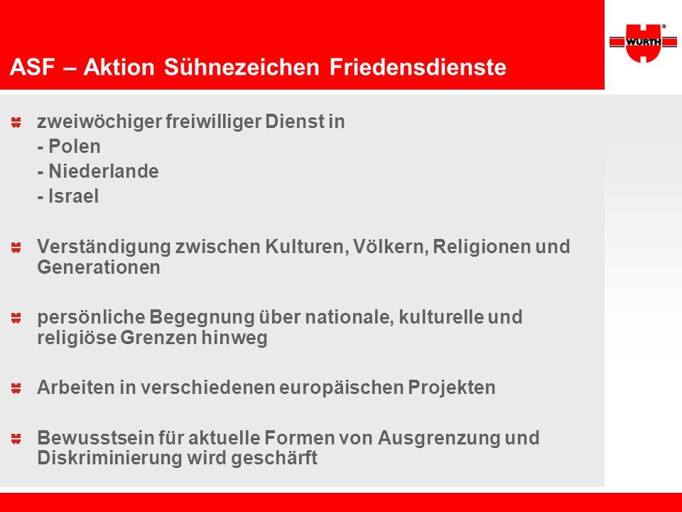 ASF – Aktion Sühnezeichen Friedensdienste