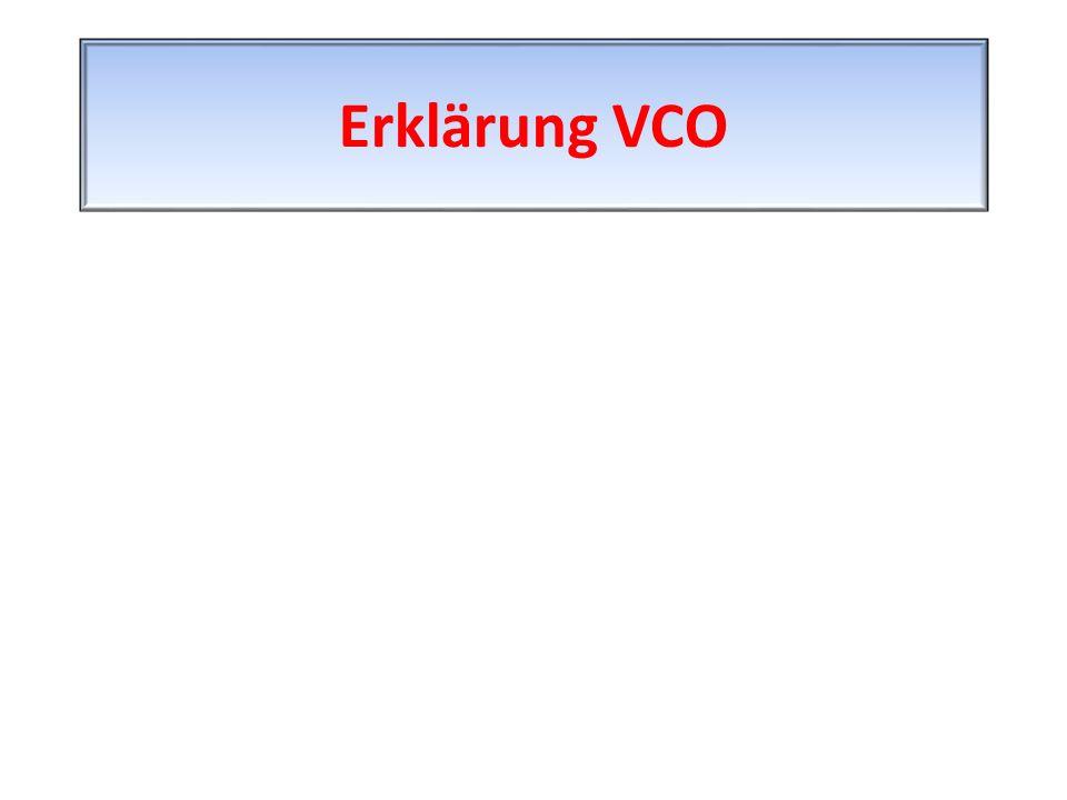 Erklärung VCO