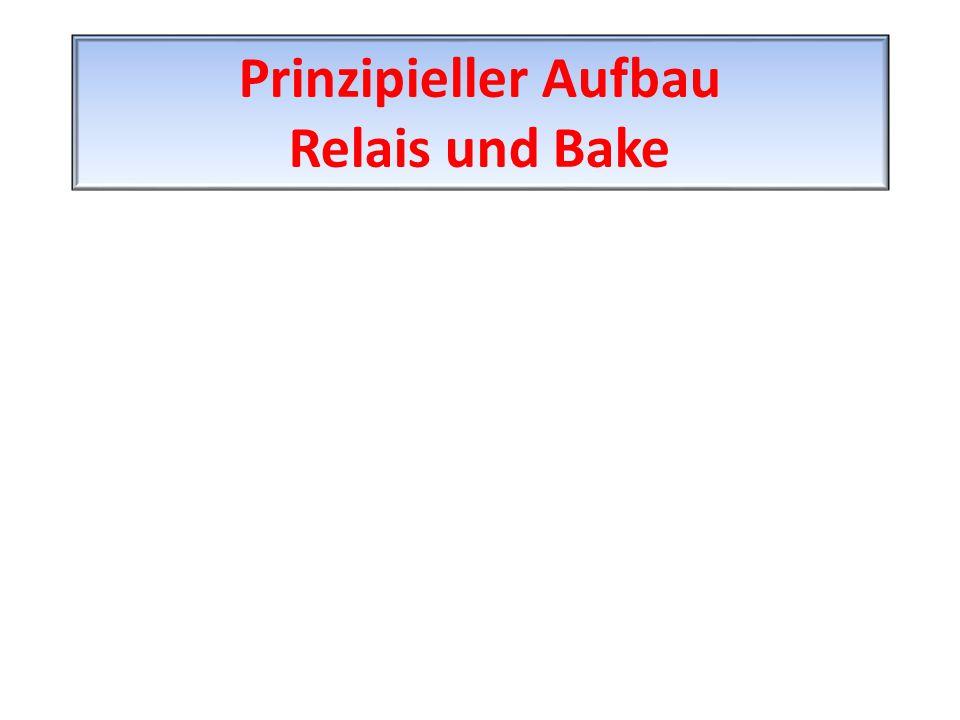 Prinzipieller Aufbau Relais und Bake