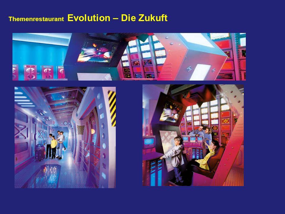 Themenrestaurant Evolution – Die Zukuft