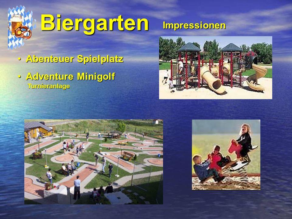 Biergarten Impressionen Abenteuer Spielplatz Adventure Minigolf
