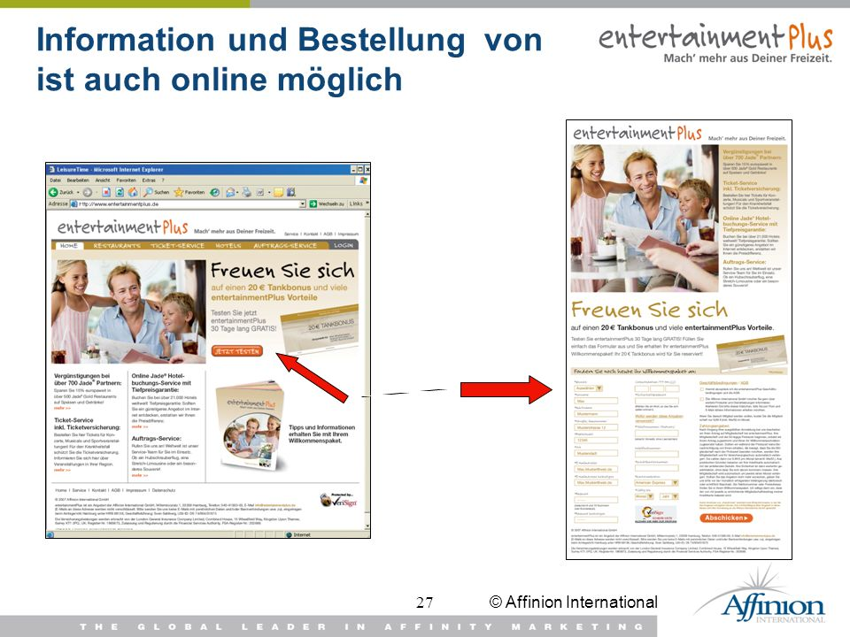 Information und Bestellung von ist auch online möglich