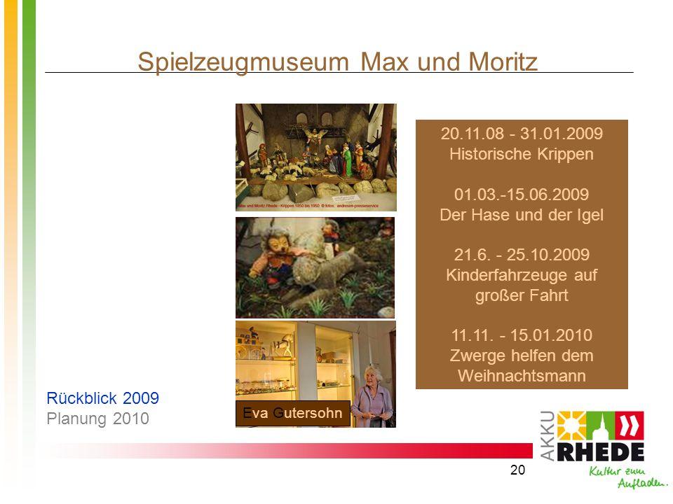 Spielzeugmuseum Max und Moritz