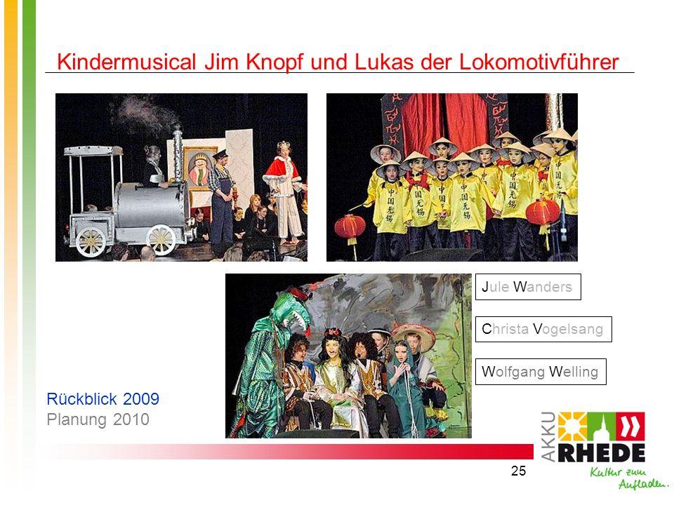 Kindermusical Jim Knopf und Lukas der Lokomotivführer