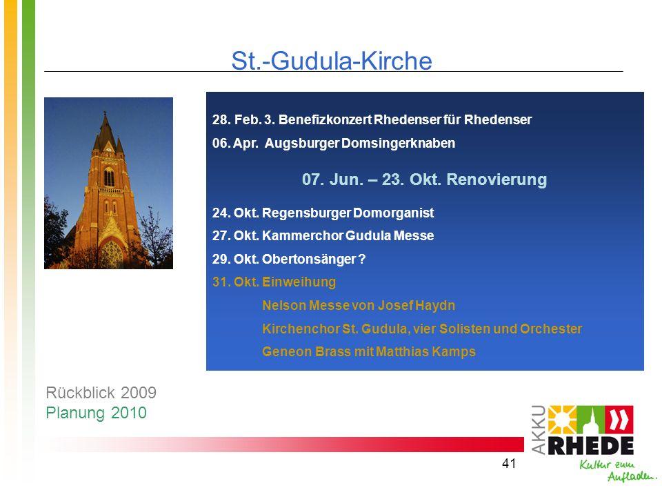 St.-Gudula-Kirche 07. Jun. – 23. Okt. Renovierung