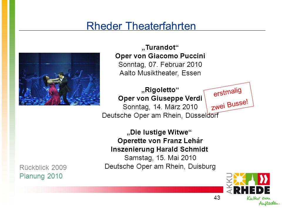 Rheder Theaterfahrten