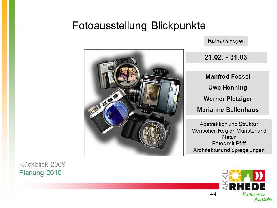 Fotoausstellung Blickpunkte