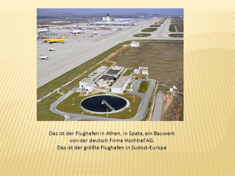 Das ist der größte Flughafen in Südost-Europa