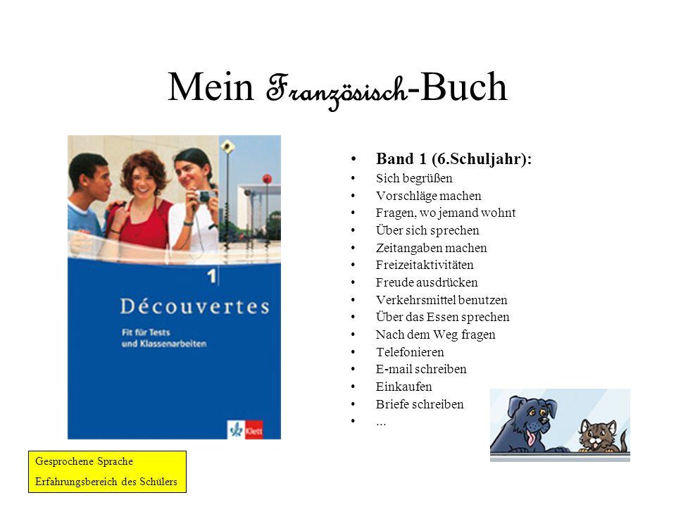 Mein Französisch-Buch