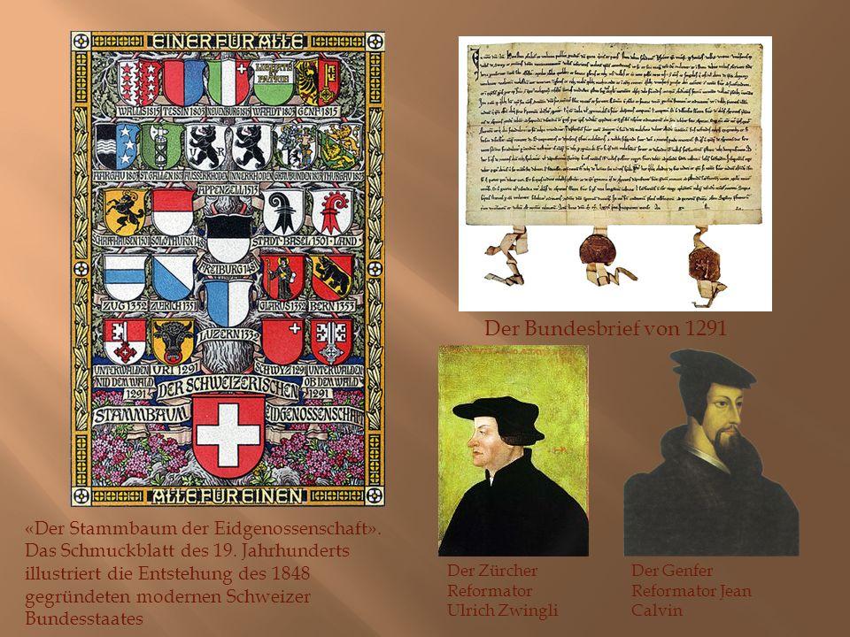 Der Bundesbrief von 1291