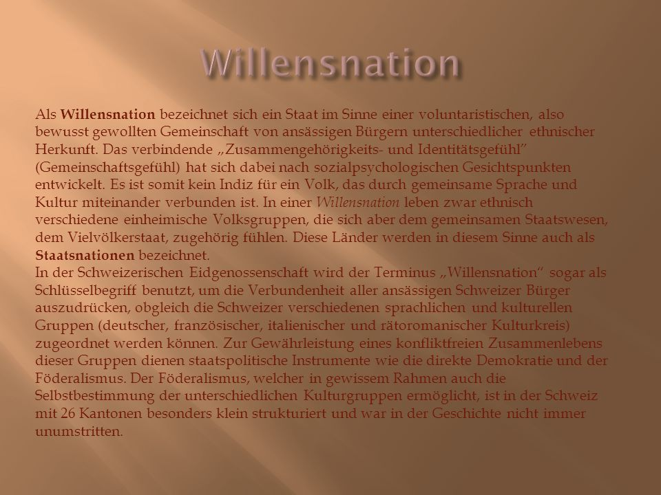 Willensnation