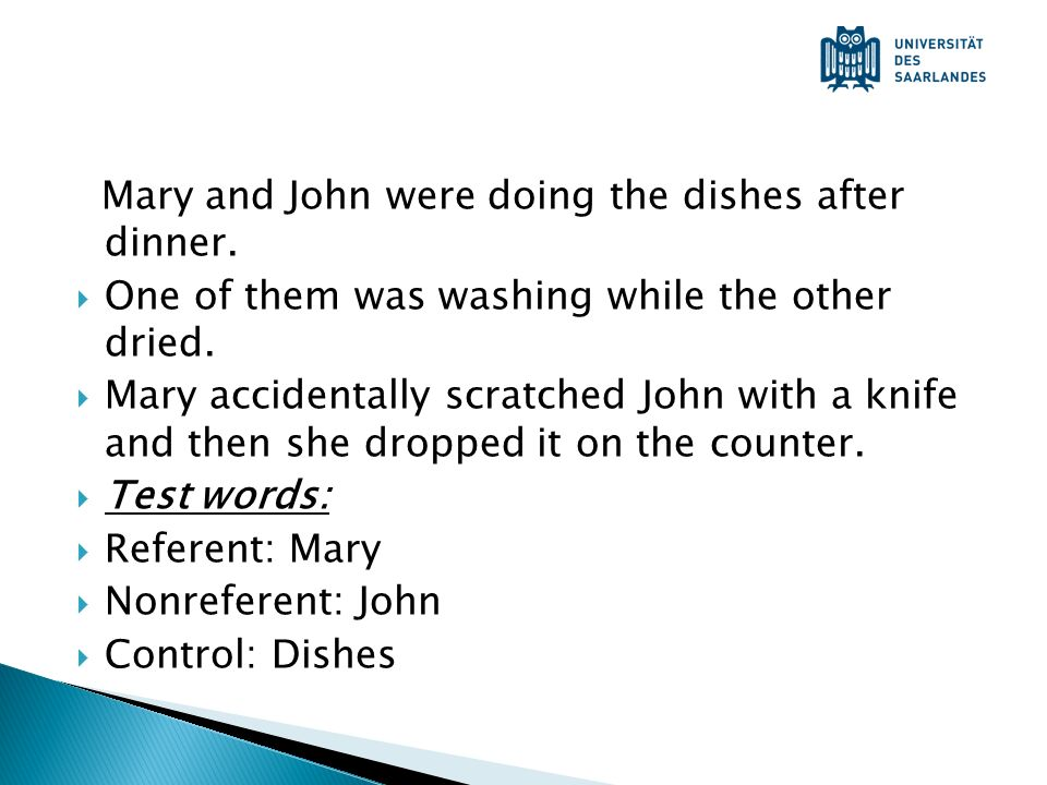 Mary and John were doing the dishes after dinner.