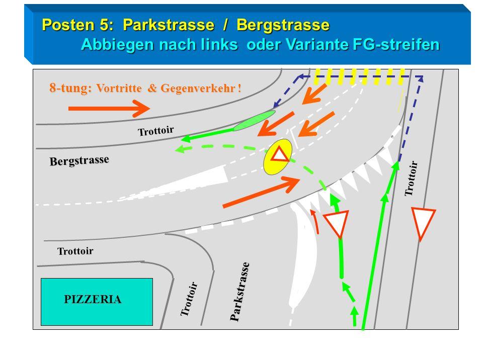 Posten 5: Parkstrasse / Bergstrasse
