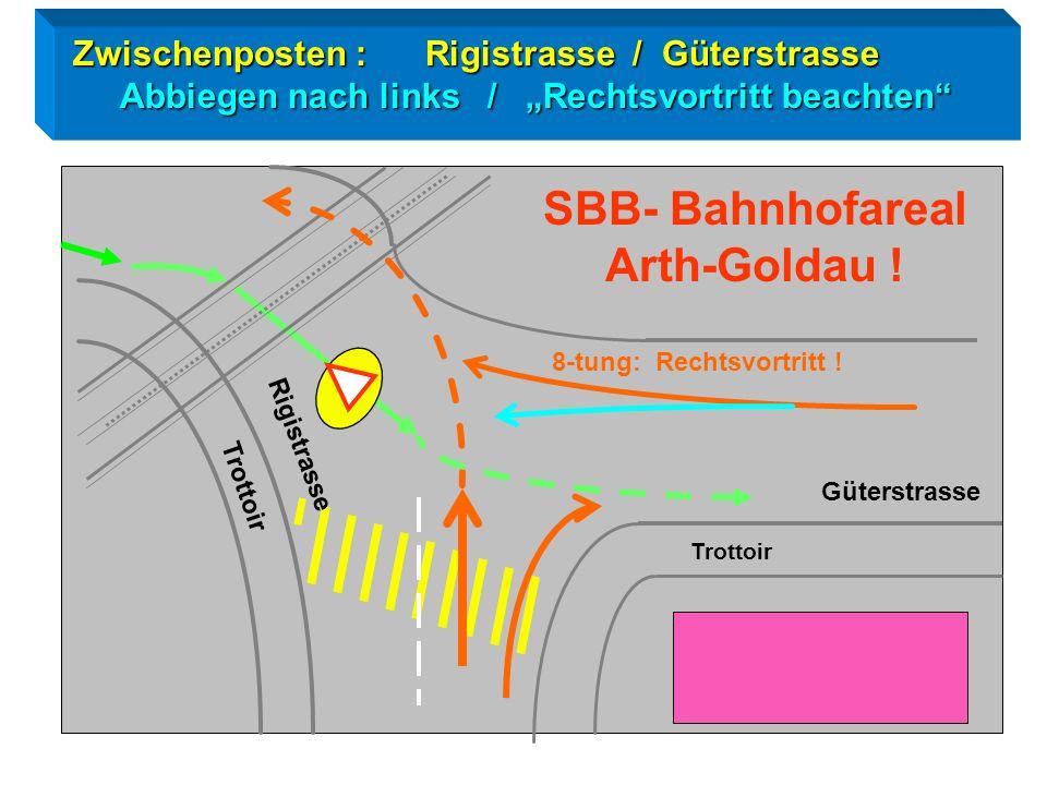 SBB- Bahnhofareal Arth-Goldau !