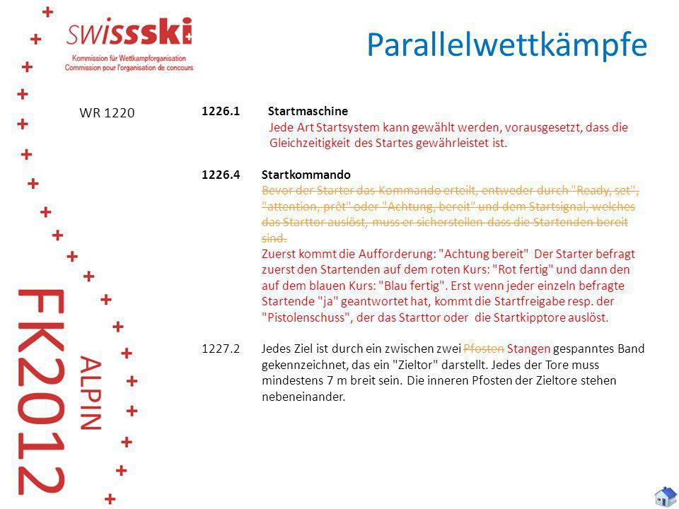 Parallelwettkämpfe WR 1220