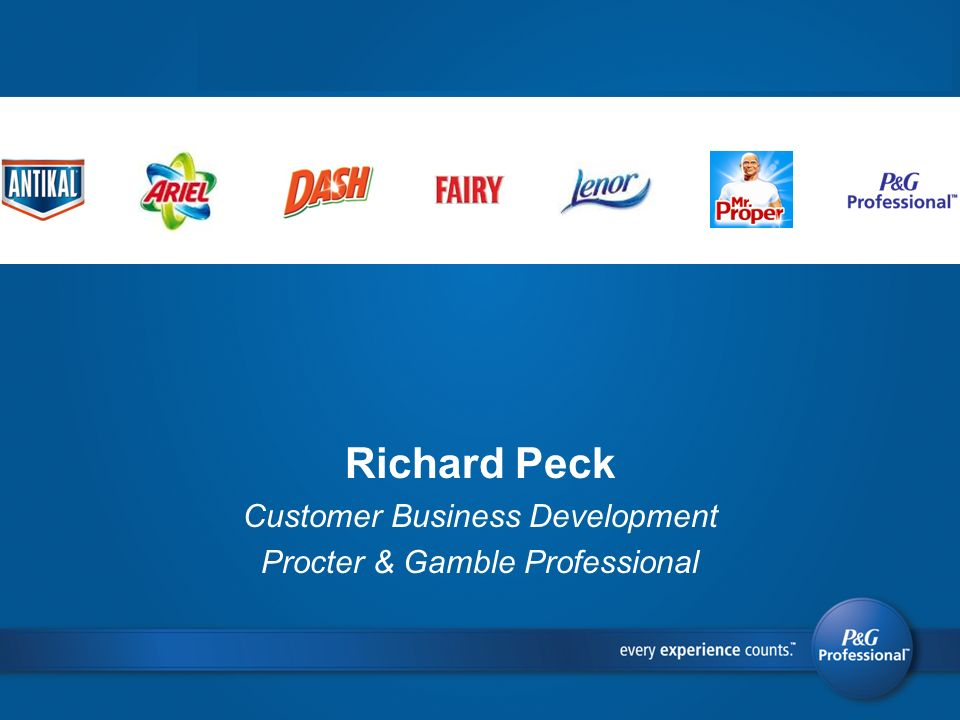 Richard Peck Customer Business Development