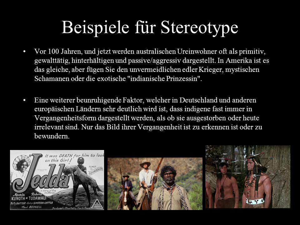 Beispiele für Stereotype