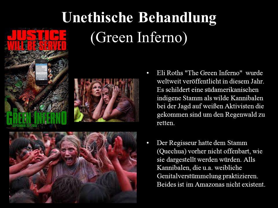 Unethische Behandlung (Green Inferno)