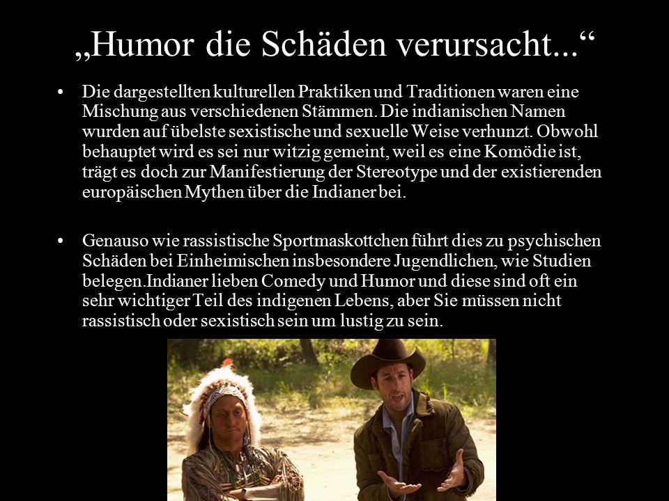 """""""Humor die Schäden verursacht..."""