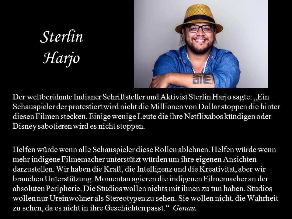 Sterlin Harjo