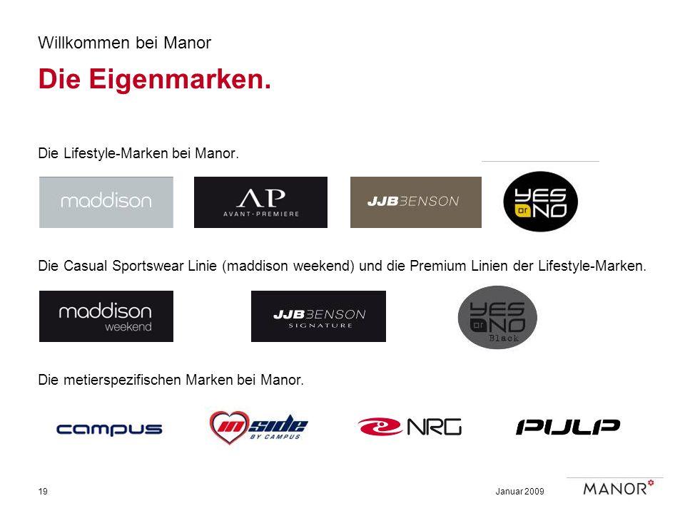 Die Eigenmarken. Willkommen bei Manor Die Lifestyle-Marken bei Manor.