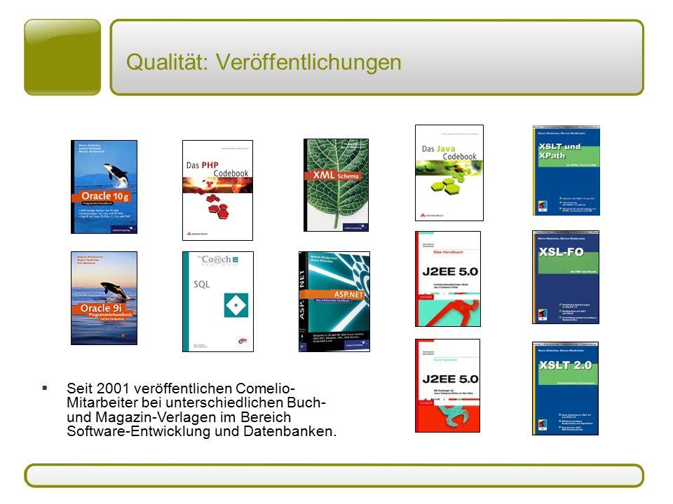 Qualität: Veröffentlichungen
