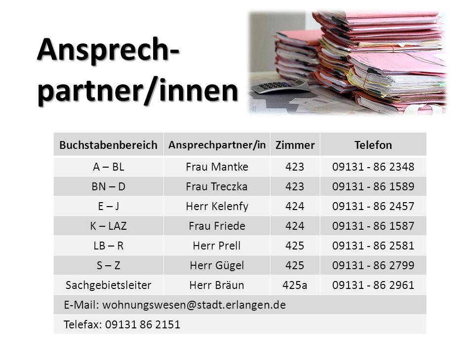 Ansprech- partner/innen