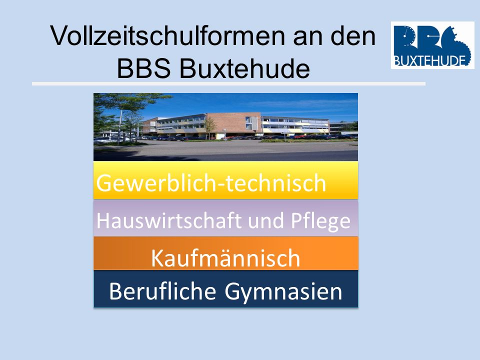 Vollzeitschulformen an den BBS Buxtehude