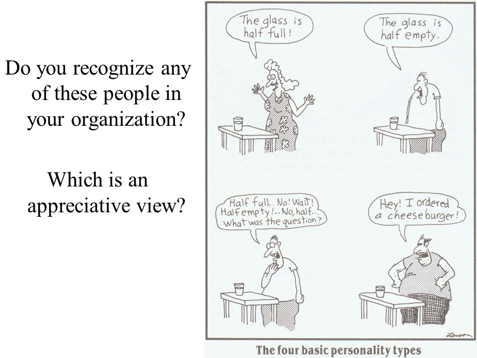 Do you recognize any of these people in your organization
