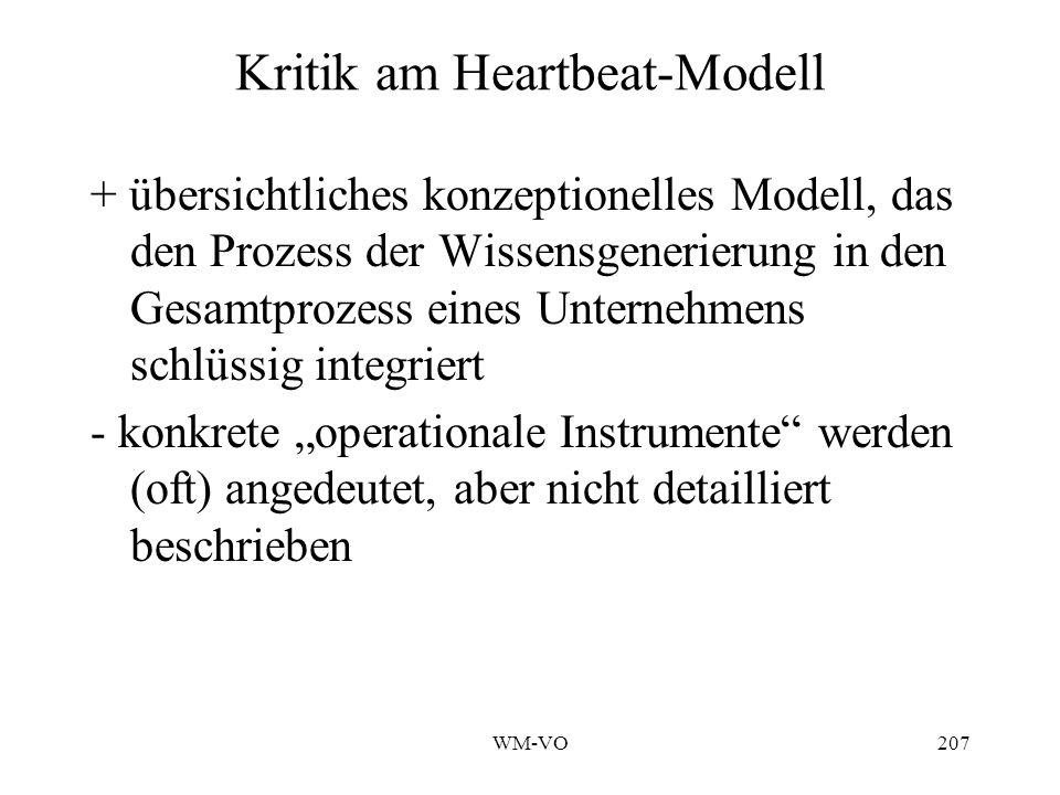 Kritik am Heartbeat-Modell