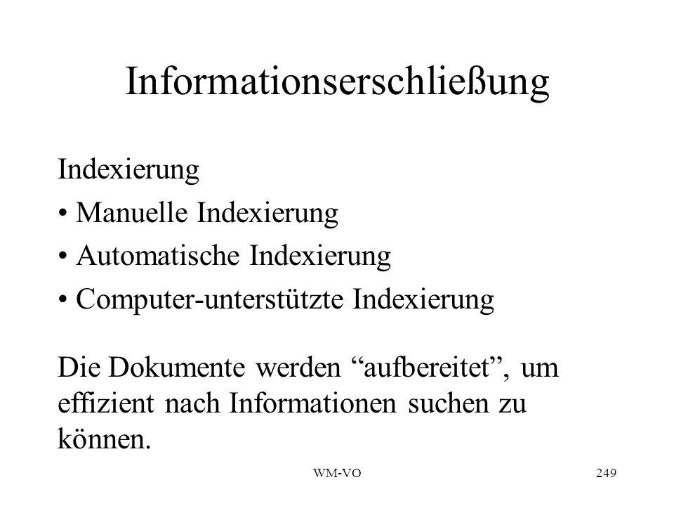 Informationserschließung