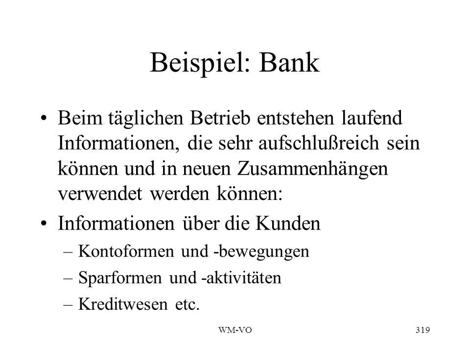 Beispiel: Bank