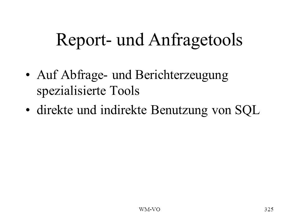 Report- und Anfragetools